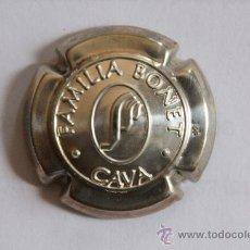 Coleccionismo de cava: PLACA DE CAVA FAMILIA BONET PLATA. Lote 9677524