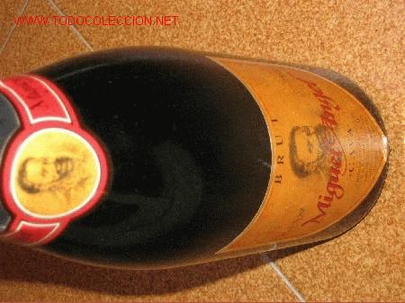 BOTELLA CAVA MIGUEL ANGEL (Coleccionismo - Botellas y Bebidas - Cava)