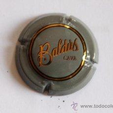 Coleccionismo de cava: PLACA DE CAVA BALDUS GRIS Y DORADA. Lote 9719237