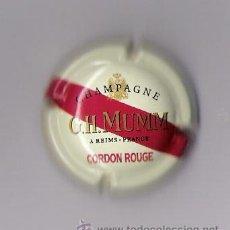 Coleccionismo de cava: PLACA CAVA *CHAMPAGNE G.H. MUMM .CORDON ROUGE*. Lote 10097834