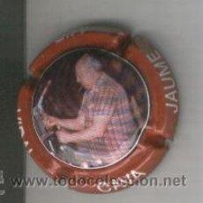 Coleccionismo de cava: PLACA DE CAVA. JAUME MIR VIDAL. J. MIR VIDAL. ROJO. VERMELL. . Lote 13046475