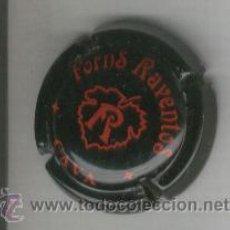Coleccionismo de cava: PLACA DE CAVA. FORNS RAVENTOS. NEGRA. . Lote 13068271