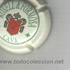 Coleccionismo de cava: PLACA DE CAVA. ROSELL ROMOSA. Lote 13070501