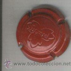 Coleccionismo de cava: PLACA DE CAVA. LOXAREL. VERMELLA. ROJA. GRAVADA. . Lote 13070521