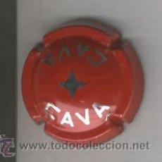 Coleccionismo de cava: PLACA DE CAVA. DIVERSES MARQUES. VERMELLA. 722. EE. MOLT ESCASSA. . Lote 13076094