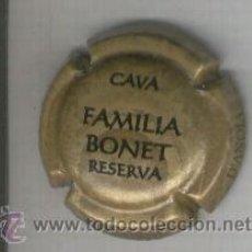 Coleccionismo de cava: PLACA DE CAVA. FAMILIA BONET RESERVA. . Lote 13076483