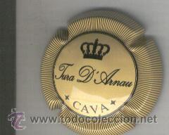 PLACA DE CAVA. TURA D' ARNAU. (Coleccionismo - Botellas y Bebidas - Cava)