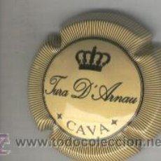 Coleccionismo de cava: PLACA DE CAVA. TURA D' ARNAU. . Lote 13076690
