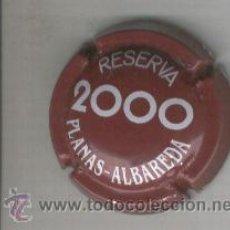Coleccionismo de cava: PLACA DE CAVA. PLANAS ALBAREDA. RESERVA. 2000. Lote 211053764