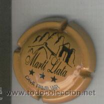 PLACA DE CAVA. MARTI LLATA. 1086. DIFICIL. (Coleccionismo - Botellas y Bebidas - Cava)
