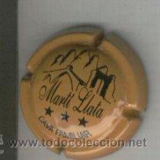 Coleccionismo de cava: PLACA DE CAVA. MARTI LLATA. 1086. DIFICIL. . Lote 13097871