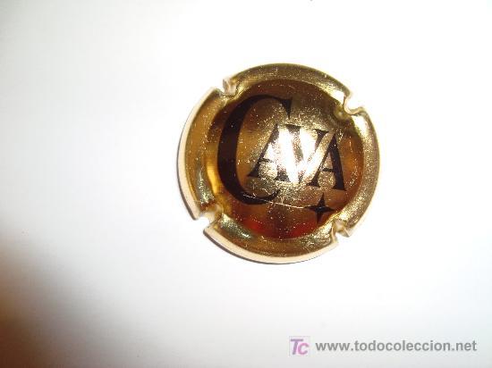 PLACA DE CAVA CAVA (Coleccionismo - Botellas y Bebidas - Cava)