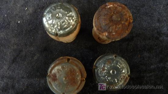 Coleccionismo de cava: Lote de 6 chapas de cava Delapierre. Muy antiguos. - Foto 3 - 24933506