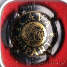 Coleccionismo de cava: CHAPA PLACA CAVA.- CAVA LLOPART .- NEGRA .- CH- 234. Lote 20967204