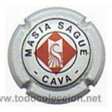 Coleccionismo de cava: PLACA DE CAVA MASIA SAGUÉ 1331. Lote 22164243