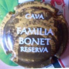 Coleccionismo de cava: PLACA DE CAVA FAMILIA BONET RESERVA. Lote 24406577