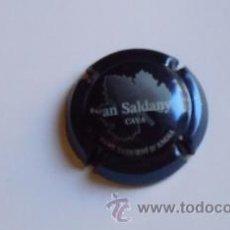 Coleccionismo de cava: PLACA CAVA IVAN SALDANYA (AZUL). Lote 26013094