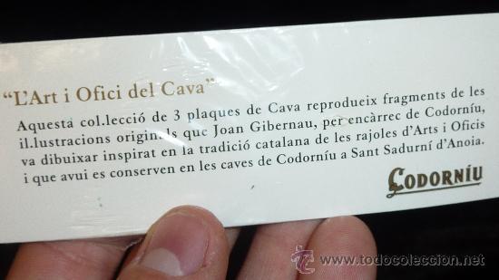 Coleccionismo de cava: Gran lote de chapas de cava de codorniu. - Foto 4 - 29355255