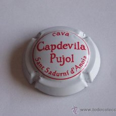 Coleccionismo de cava: PLACA CAVA CAPDEVILA PUJOL. Lote 29819809