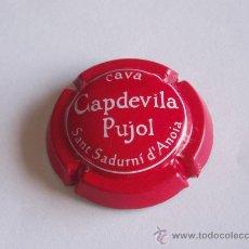 Coleccionismo de cava: PLACA CAVA CAPDEVILA PUJOL. Lote 29819813