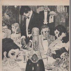 Coleccionismo de cava - PUBLICIDAD ANTIGUA. CAVA. CODORNIU NON PLUS ULTRA. 1971. - 30147203