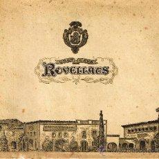 Coleccionismo de cava: GRAN CAVA ROVELLATS - COMENTARIOS REFERENTES AL CAVA Y UNAS FOTOS DE SUS CAVAS - 1964. Lote 31708742