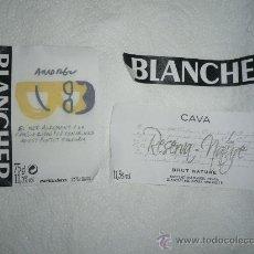 Coleccionismo de cava: ETIQUETA DE CAVA BANCHER. EDICIÓN ESPECIAL BUENAFUENTE. Lote 32861425