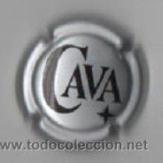 Coleccionismo de cava: PLACA CAVA ( BLANCA ). Lote 33590507