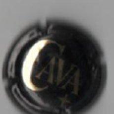 Coleccionismo de cava: PLACA CAVA (NEGRA). Lote 33590515