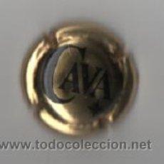Coleccionismo de cava: PLACA - CAVA ( DORADA ). Lote 33803069