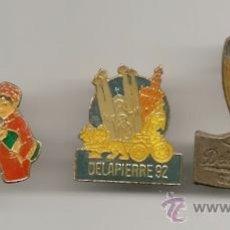 Coleccionismo de cava: LOTE DE PINS DE CAVA MUY BONITOS. Lote 34054061