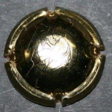 Coleccionismo de cava: PLACA DE CAVA - CODORNIU - 1551-1872 - DORADA - PLACA PEQUEÑA. Lote 35352079