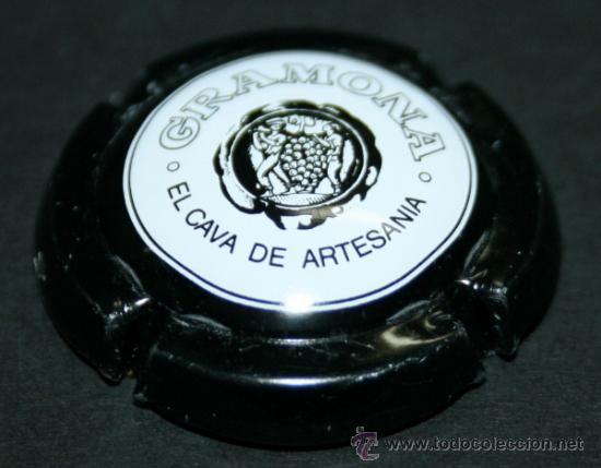 PLACA DE CAVA - GRAMONA - CORONA NEGRA (Coleccionismo - Botellas y Bebidas - Cava)