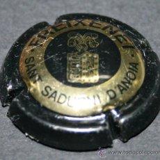 Coleccionismo de cava: PLACA DE CAVA - FREIXENET - DORADO Y AZUL. Lote 35352496