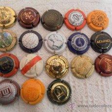 Coleccionismo de cava: LOTE DE PLACAS DE CAVA. 18 UNIDADES. . Lote 35374334