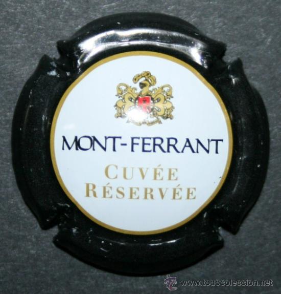 PLACA DE CAVA - MONT FERRANT - CUVEE RESERVEE (Coleccionismo - Botellas y Bebidas - Cava)