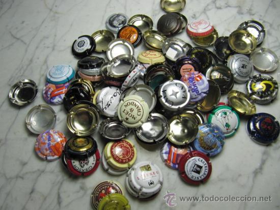 PRECIOSO LOTE DE PLACAS DE CAVA. 1 KILO. VARIADAS (Coleccionismo - Botellas y Bebidas - Cava)