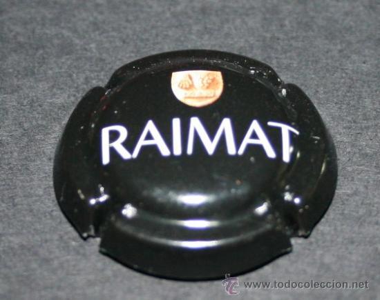 PLACA DE CAVA - RAIMAT - NEGRA (Coleccionismo - Botellas y Bebidas - Cava)