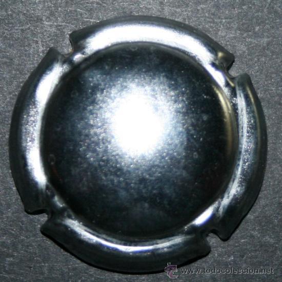 Coleccionismo de cava: PLACA DE CAVA - ANÓNIMA - PLATEADO BRILLANTE - Foto 2 - 35469538