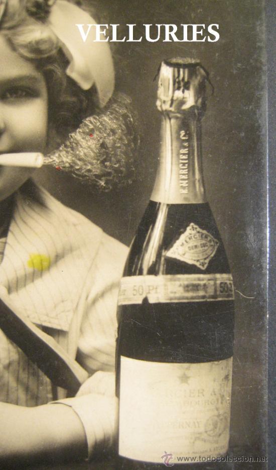 Coleccionismo de cava: CHAMPAGNE R. MERCIER. Nº 261/4. CIRCULADA EN 1907 - Foto 2 - 35877767