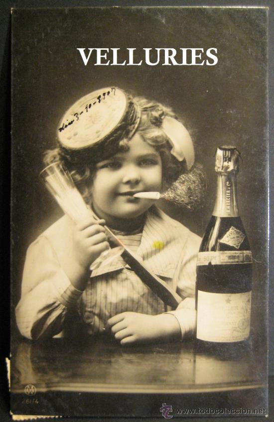 CHAMPAGNE R. MERCIER. Nº 261/4. CIRCULADA EN 1907 (Coleccionismo - Botellas y Bebidas - Cava)