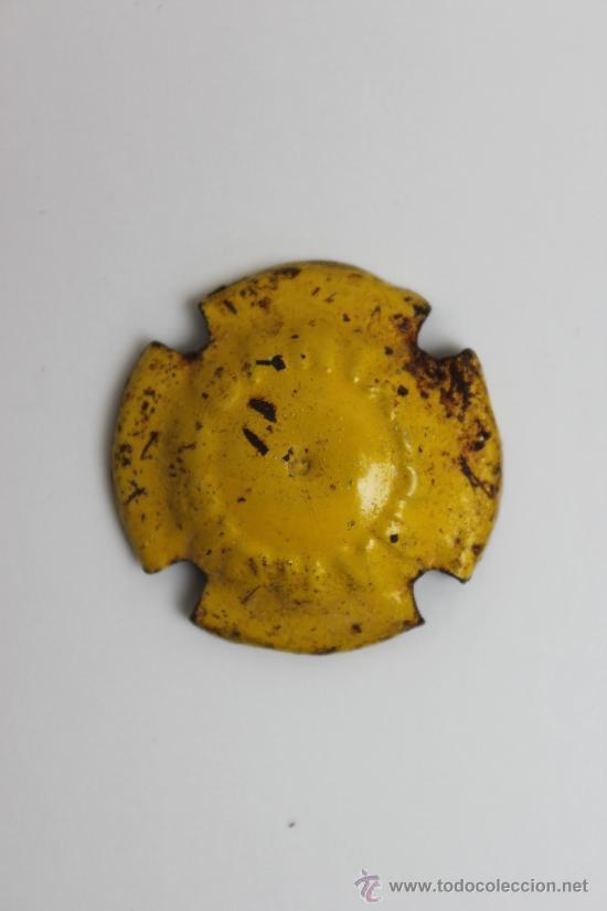 CHAPA - PLACA CAVA ENTALLADA SANTACANA ROIG ( CAVAS ) (Coleccionismo - Botellas y Bebidas - Cava)