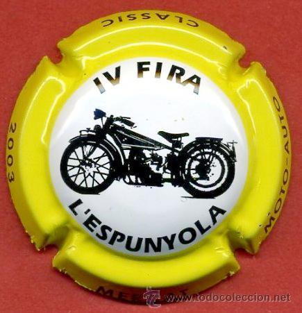 PLACA DE CAVA / PIRULA - L'ESPUNYOLA 2003 (Coleccionismo - Botellas y Bebidas - Cava)