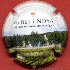 Coleccionismo de cava: PLACA DE CAVA - ALBET I NOYA. Lote 38892457