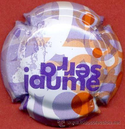 PLACA DE CAVA - JAUME SERRA (Coleccionismo - Botellas y Bebidas - Cava)