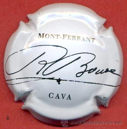 PLACA DE CAVA - MONT - FERRANT (Coleccionismo - Botellas y Bebidas - Cava)