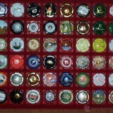 Coleccionismo de cava: LOTE DE 48 PLACAS DE CAVA (TODAS DIFERENTES) VER FOTOS AMPLIADAS. Lote 39946740