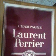 Coleccionismo de cava: BOTELLA DE CHAMPAGNE LAURENT PERRIER. Lote 42116468