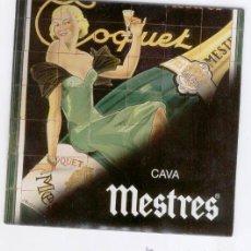 Coleccionismo de cava: CAVA MESTRES - DVD * CD PROMOCIONAL VISUAL Y SONORO MUSICAL. Lote 45179908