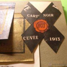 Coleccionismo de cava: CHAMPAGNES BUSQUÉ BARCELONA CATALOGO DE VENTA CON ETIQUETAS Y COLLARINES PRIMERA MITAD SIGLO PASADO. Lote 46537619